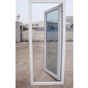 UPVC/PVC Casement Door Double glass Manufacturer