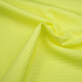 Taiwan Mini Hole Interlock Fabric with Glow-in-the-Dark Print Treatment