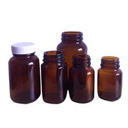 Pharmaceutical amber glass bottle from China (mainland)