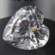 Shinning Cubic Zirconia Synthetic Gemstones from China (mainland)
