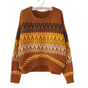 New women's knitted winter sweater from Hong Kong SAR