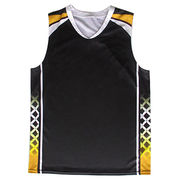 Heart Neck Basketball Singlet from China (mainland)