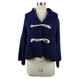 Ladies' fashion knitted cardigan from China (mainland)