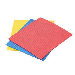 China 5pk cellulose sponge cloth