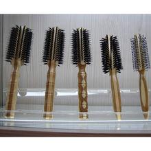 China bamboo roller boar bristle brush