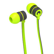Metal earphone for mobile phone, noise cancelling headphones, various colors