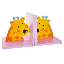Promotional gift wooden decorative bookends Manufacturer