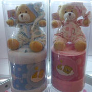 Plush pajama bear from China (mainland)