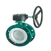 Teflon Seated Flange Butterfly Valve from China (mainland)