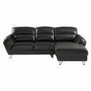 L-shaped leather leisure sofa from Hong Kong SAR