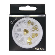 Metal Stud Nail Art Decorations Manufacturer