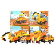 Mini Construction Truck Brick Toy Set from China (mainland)