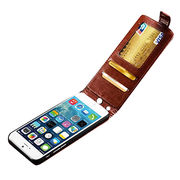 Deluxe Vintage Flip Style PU Leather Phone Case from China (mainland)
