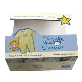 China Baby garment packing box