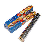 Alu foil paper roll for barbecue and baking