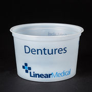 Disposable medical plastic denture cup from China (mainland)