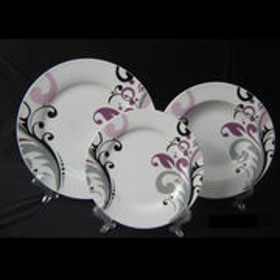 China 3-piece Ceramic Plate Set