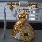 Retro Home Telephone Old Style Telephone For Home Decoration Ms