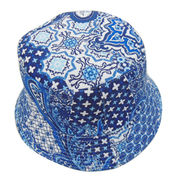 Vintage Retro Chinese Porcelain Printed Bucket Hat Manufacturer