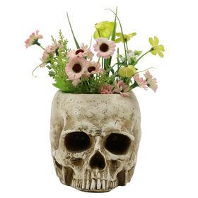 Decorative Skull Plant Pots Garden Statue from China (mainland)