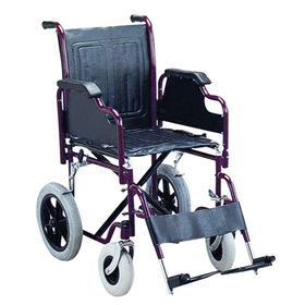 Steel Transport Wheelchair from China (mainland)