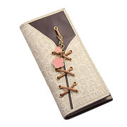 Hong Kong SAR Ladies money clip made of PU leather, suit for daily and promotion ODM&OEM orders welcomed