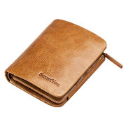 Hong Kong SAR Foldable women's leather wallet suit