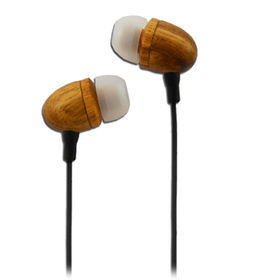 High-sound Audio Wood Smartphone Earphone and retr from China (mainland)