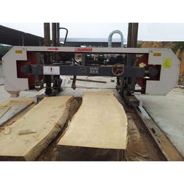 CNC Woodworking Horizontal Band Saw Cutting Machine