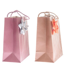 Eco-friendly paper present bags from China (mainland)