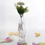 Clear Glass Flower Vases from China (mainland)