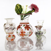 hand painted glass vase Share from China (mainland)