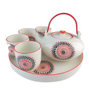 Ceramic Chinese style eco-friendly drink-ware type tea set