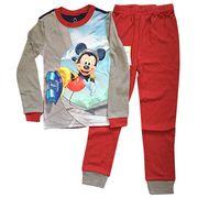 Boys' cotton top and bottom pajama set from China (mainland)