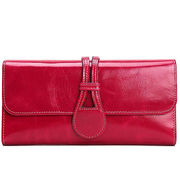 Women's leather wallet from Hong Kong SAR