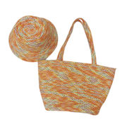 Beach Style Colorful Straw Bag from China (mainland)