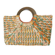 Hand Braided Straw Tote Bag from China (mainland)