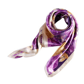 Comfortable and Soft Women's Silk Scarves from China (mainland)
