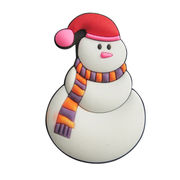 Snowman 3D Christmas Decoration Fridge Magnet from China (mainland)