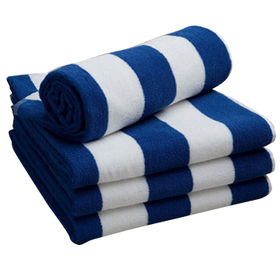 Jacquard stripper beach towels from China (mainland)