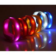 4 LED Velcro Nylon Wristband from China (mainland)