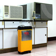 Portable power station for air conditioning units, also suitable for emergency and construction site