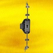 Nickel-plated Rotating Bar Lock from Hong Kong SAR