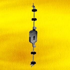 Hong Kong SAR Nickel-plated Rotating Bar Lock w/ Zinc Alloy Keys