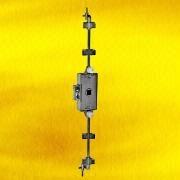 Hong Kong SAR Nickel-Plated Rotating Bar Lock with Square Pin