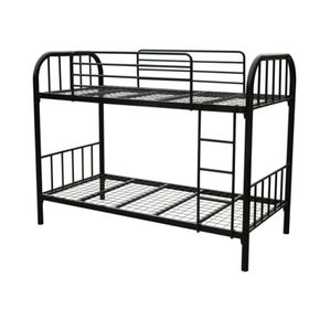 Twin-twin metal dormitory bunk bed Manufacturer