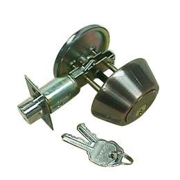 Deadbolt locks, made of stainless steel or brass from Kin Kei Hardware Industries Ltd