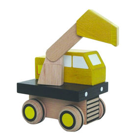Wooden excavator toy from China (mainland)
