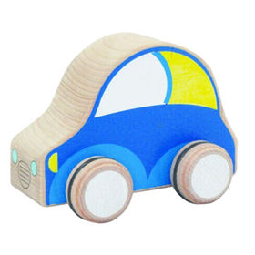 Lovely wooden mini car toy