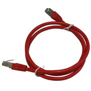 Cat6 STP 24AWG Red from China (mainland)